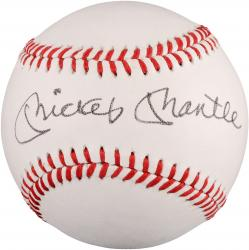 Mickey Mantle Autographed Baseball (JSA LOA) #2