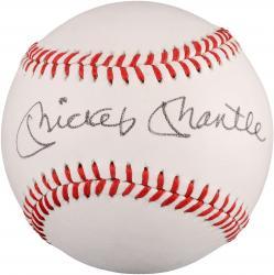 Mickey Mantle Autographed Baseball (JSA LOA) #2