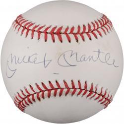 Mickey Mantle Autographed Baseball (UDA)