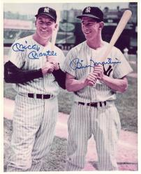 Mickey Mantle & Billy Martin New York Yankees Autographed 8'' x 10'' Photograph - JSA LOA