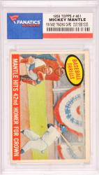 Mickey Mantle New York Yankees 1959 Topps #461 Card