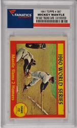 Mickey Mantle New York Yankees 1961 Topps #307 Card 2