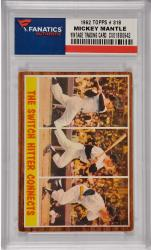 Mickey Mantle New York Yankees 1962 Topps #318 Card