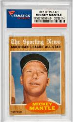 Mickey Mantle New York Yankees 1962 Topps #471 Card