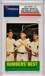 Mickey Mantle New York Yankees 1963 Topps #173 Card