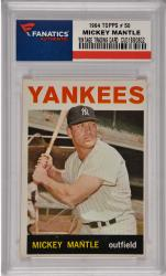 Mickey Mantle New York Yankees 1964 Topps #50 Card