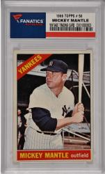 Mickey Mantle New York Yankees 1966 Topps #50 Card