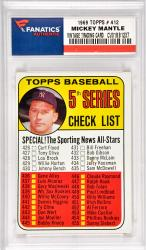 Mickey Mantle New York Yankees 1969 Topps #412 Card