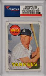 Mickey Mantle New York Yankees 1969 Topps #500 Card 5