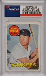 Mickey Mantle New York Yankees 1969 Topps #500 Card 6