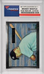 Mickey Mantle New York Yankees 1996 Topps Commemorative Edition #1 Reprint of 1951 Bowman #253