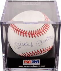 Mickey Mantle New York Yankees Autographed Baseball PSA/DNA/JSA Graded 7.5
