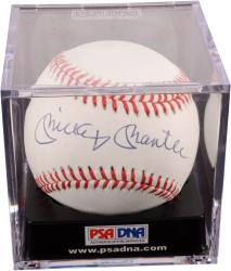 Mickey Mantle New York Yankees Autographed Baseball PSA/DNA/JSA Graded 9