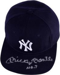 Mickey Mantle New York Yankees Autographed Hat (JSA)
