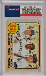 Mickey Mantle/Willie Mays New York Yankees/San Francisco Giants 1968 Topps #490 Card