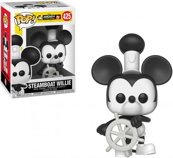 Mickey Mouse Disney #425 Steamboat Willie Funko Pop!
