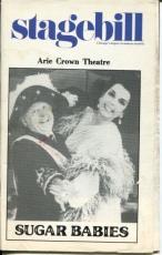 Mickey Rooney Ann Miller Frank Oliver Mickey Deems Sugar Babies 1983 Playbill