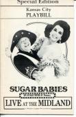 Mickey Rooney Ann Miller Frank Oliver Mickey Deems Sugar Babies 1984 Playbill