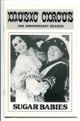 Mickey Rooney Ann Miller Frank Oliver Mickey Deems Sugar Babies Playbill