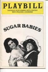 Mickey Rooney Ann Miller Ronn Lucas Sugar Babies Jun 1983 Opening Night Playbill
