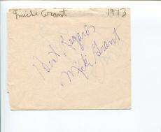 Micki Grant Tony Nominee Broadway Lyricist Composer Signed Autograph