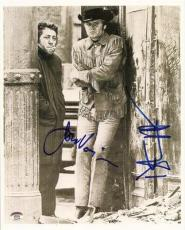 Jon Voight & Dustin Hoffman Midnight Cowboy Signed Photo