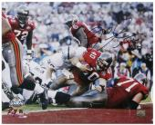 Signed Mike Alstott Photograph - SB XXXVI TD 16x20 Mounted Memories