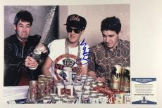 MIKE D SIGNED BEASTIE BOYS 11x14 PHOTO AUTHENTIC BECKETT BAS COA #C15426