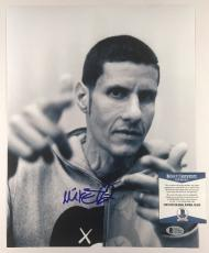 MIKE D SIGNED BEASTIE BOYS 11x14 PHOTO AUTHENTIC BECKETT BAS COA #C15430