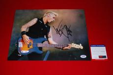 MIKE DIRNT green day bassist player dookie signed 11x4 psa/dna photo proof 3