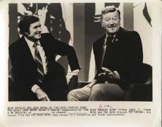 Mike Douglas & John Wayne 8X10 Vintage Promo Photo