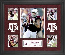 Mike Evans Texas A&M Aggies Framed 5-Photo Collage