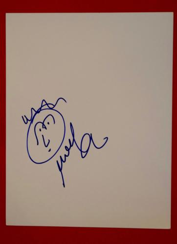 Mike Gordon Bassist of Phish Signed Autographed Hand Drawn Sketch