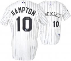 Mike Hampton Colorado Rockies Autographed Jersey  - Mounted Memories