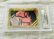 Mike Henry 2018 Leaf Masterpiece Cut Signature signed card 1/1 JSA Family Guy
