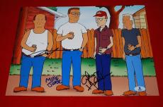 MIKE JUDGE STEPHEN ROOT JOHNNY HARDWICK koth signed beckett 11x14 BAS letter