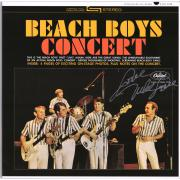 Mike Love Autographed Beach Boys Concert Album Cover - BAS
