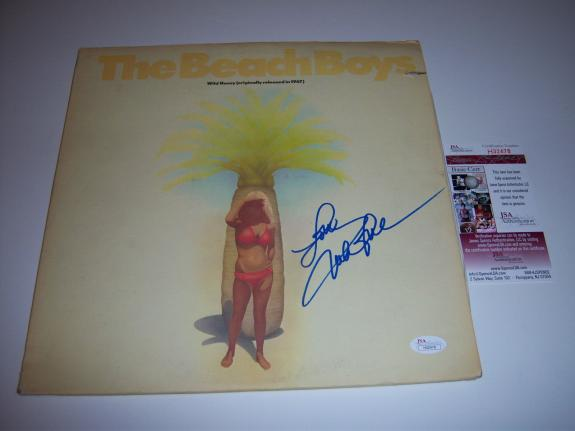 Mike Love Beach Boys  Jsa/coa Signed Lp Record Album