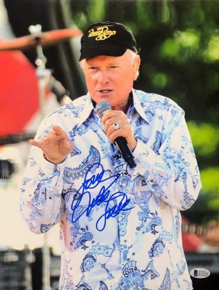 Mike Love Signed 11x14 Photo *Beach Boys *Surfin Safari BAS Beckett K51056