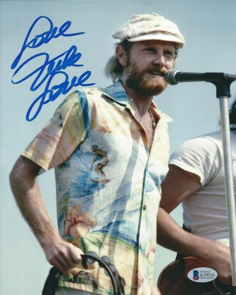 Mike Love Signed 8x10 Photo *Beach Boys *Surfin Safari BAS Beckett K50916