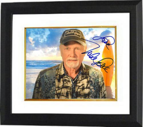 "Mike Love signed The Beach Boys 8x10 Photo Custom Framed ""Love""- PSA/JSA/BAS Guaranteed To Pass"