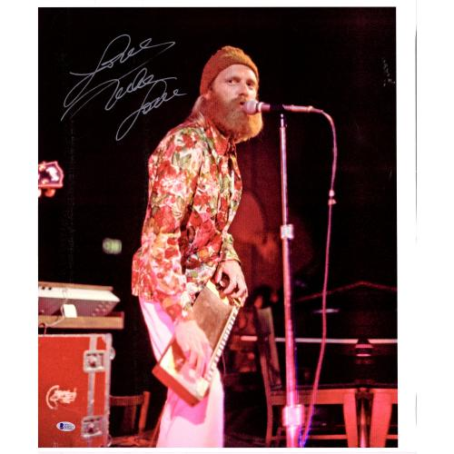 """Mike Love The Beach Boys Autographed 20"""" x 24"""" Playing Canvas with """"Love"""" Inscription - BAS"""
