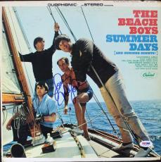 Mike Love The Beach Boys Signed Album Cover W/ Vinyl Autographed PSA/DNA #V16019
