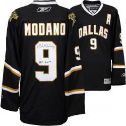 Mike Modano Dallas Stars Autographed Reebok Premier Jersey With HOF 2014 Inscription