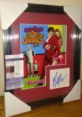 Mike Myers Austin Powers Movie Signed Autographed 13x16 Matted Framed Jsa Coa