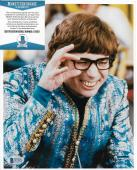 Mike Myers Austin Powers Signed Autographed 8x10 Photo Beckett Bas Coa #d72071