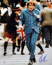 Mike Myers Authentic Autographed Signed 16x20 Photo Austin Powers PSA/DNA