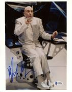 "Mike Myers Autographed 8""x 10"" Austin Powers Dr. Evil Sitting In Chair Photograph - Beckett COA"
