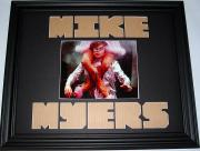 Signed Myers Photo - CUSTOM MATTED Display