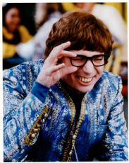 Mike Myers Autographed Signed 8x10 Austin Powers Photo AFTAL